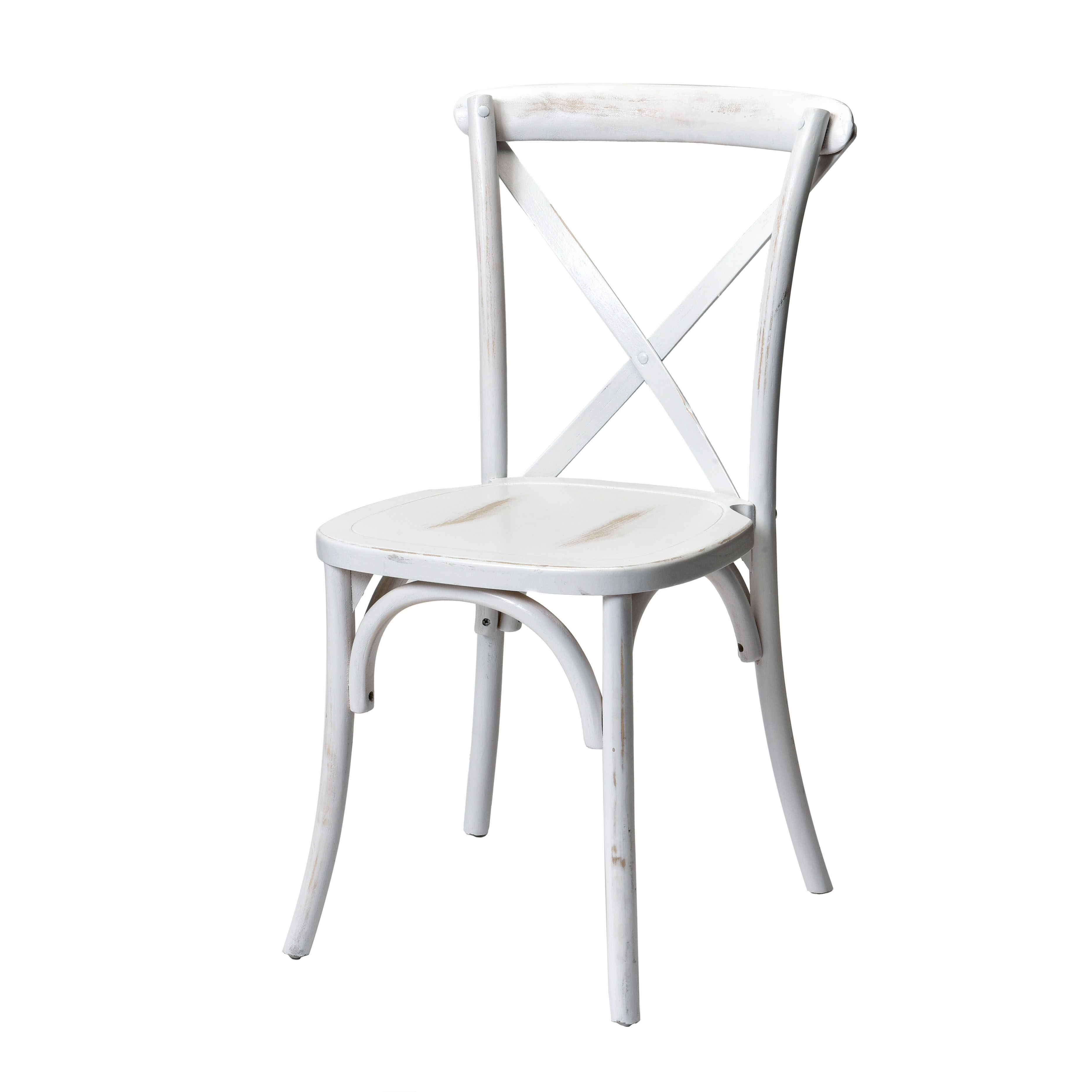 pemberley cross back dining chair white benefits of massage commercial seating products rustic sonoma solid wood