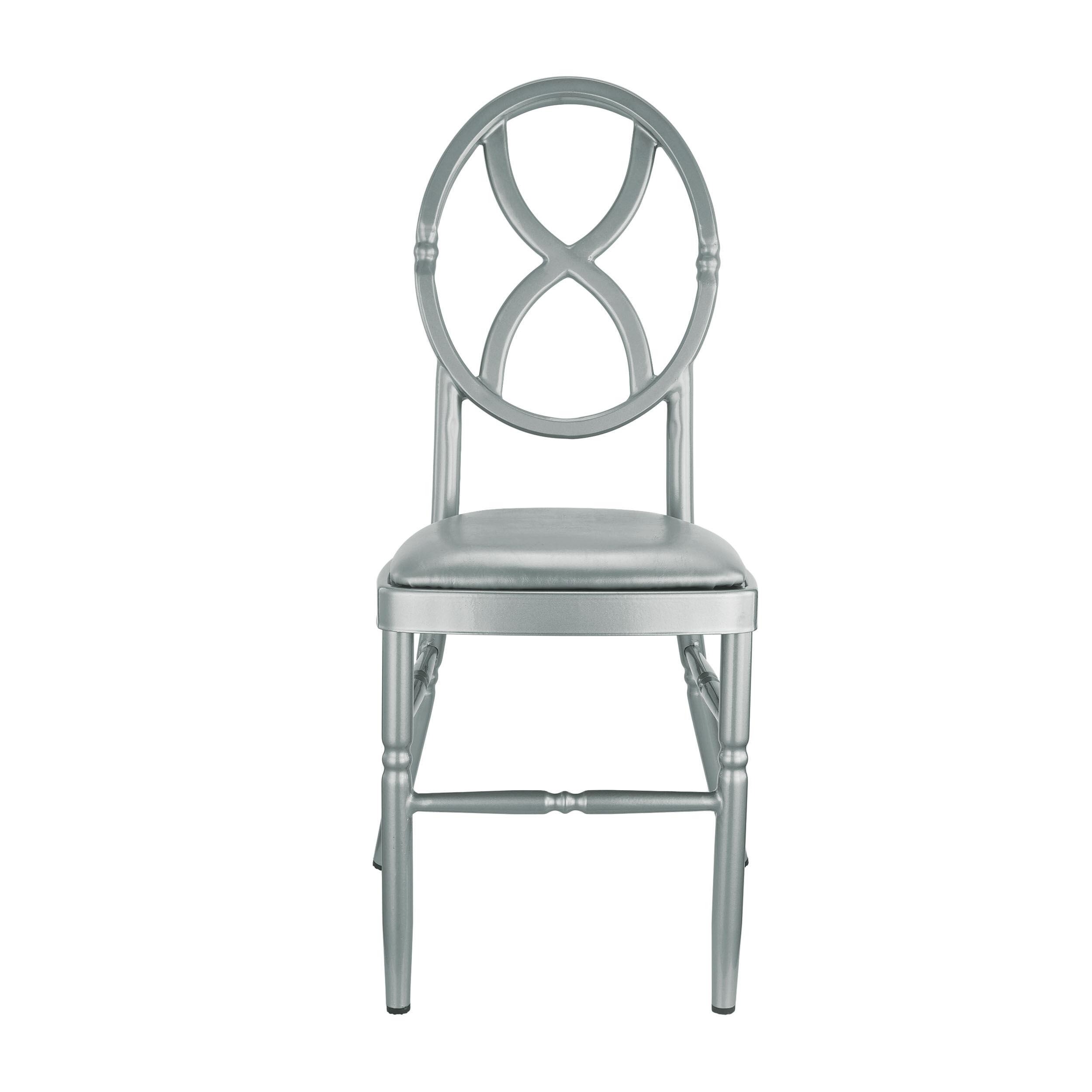 silver dining chair cushions united medical stool velika aluminum ma vk 411 sandglass sl