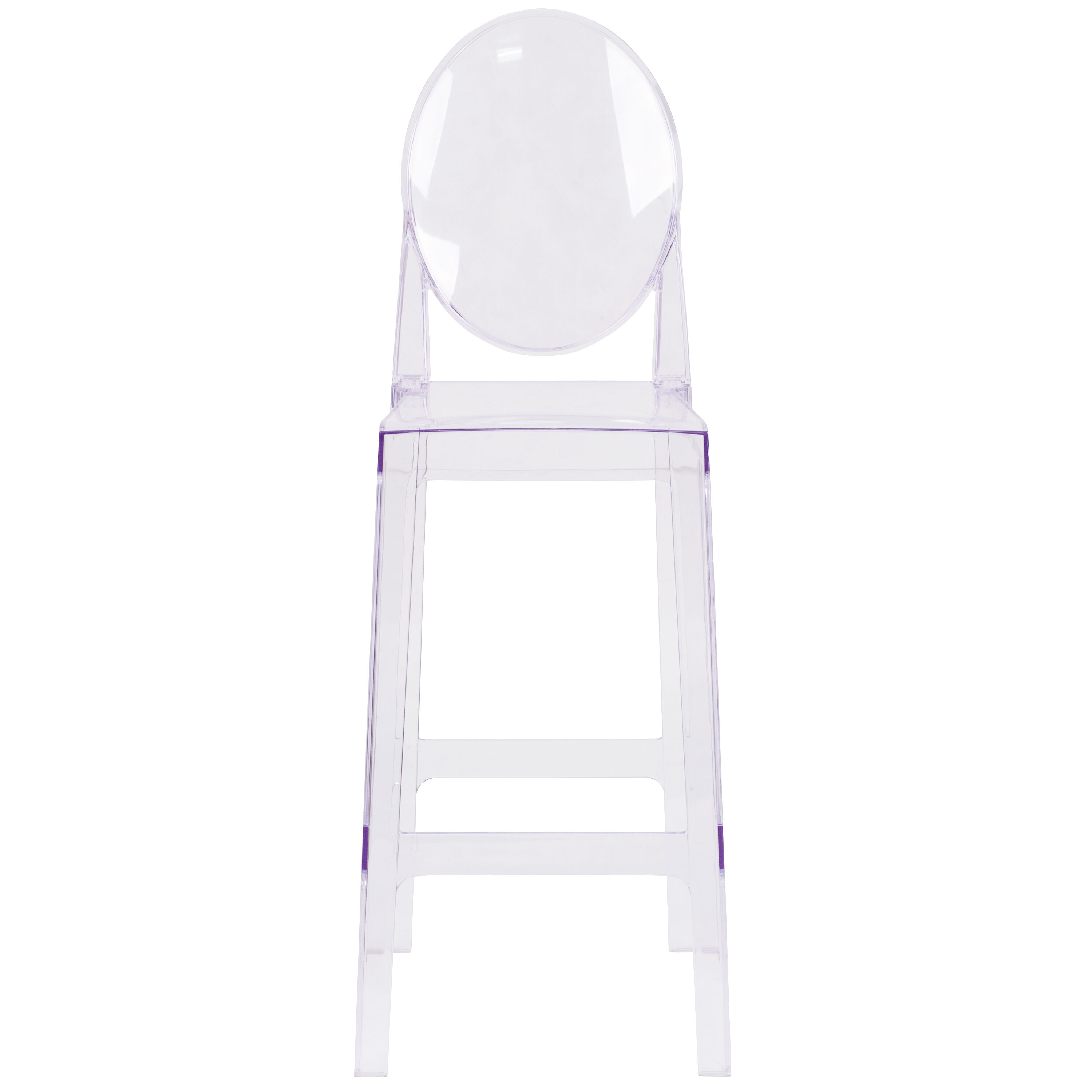 ghost chair bar stool exercises for legs oval back barstool ow ghostback 29 gg bestchiavarichairs com our with in transparent crystal is on sale now
