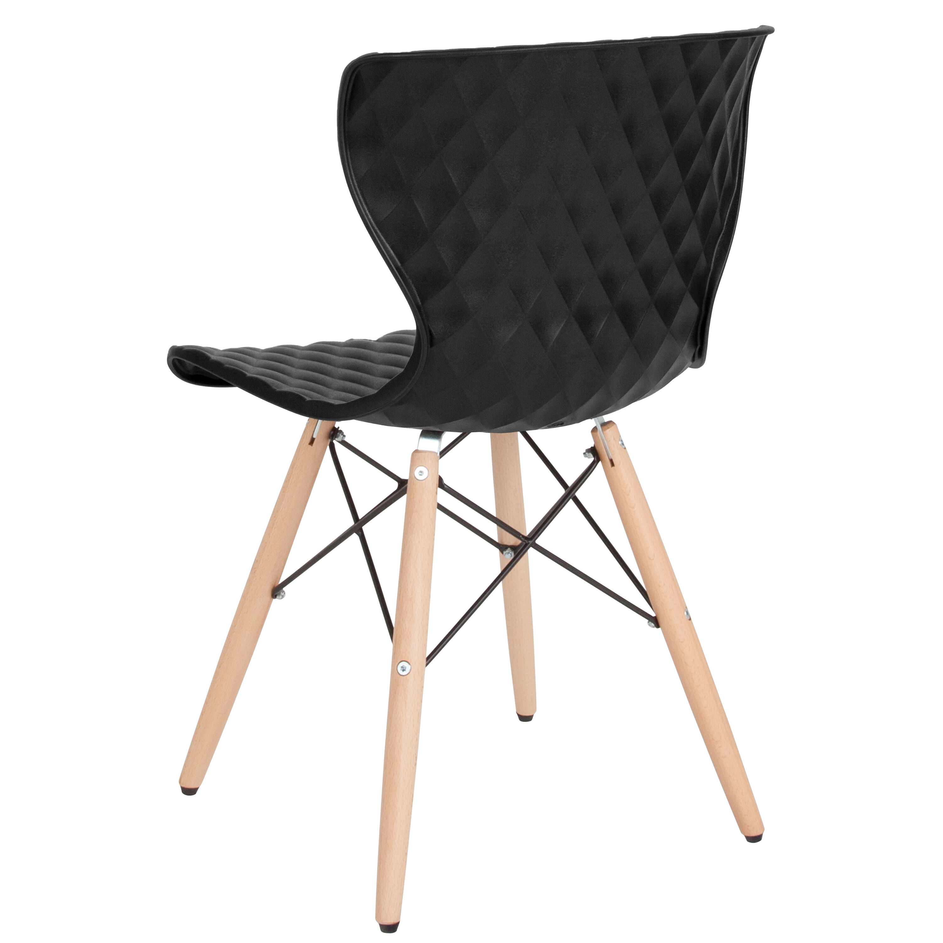 black plastic chair with wooden legs table covers cost bedford contemporary design