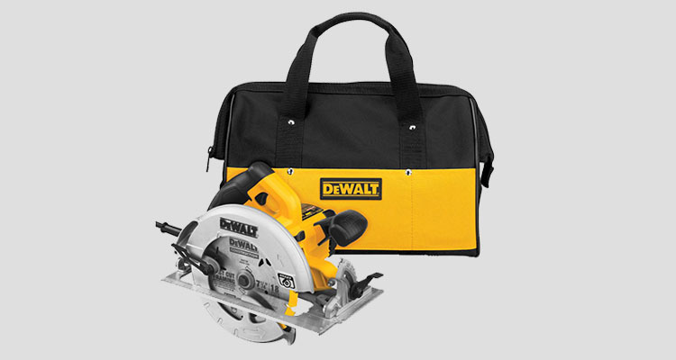 DEWALT DWE575SB 7-1/4-Inch Lightweight Circular Saw with Electric Brake review