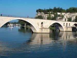 Brücke von Avignon.
