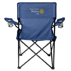 Folding Chair Embroidered Covers For Recliners Canada Rotary Cloth Camp With Customized Embroidery
