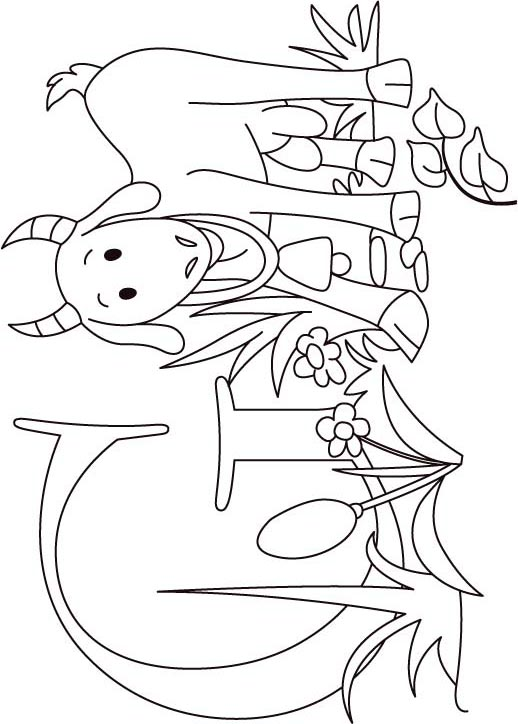 Billy Goat Coloring Pages