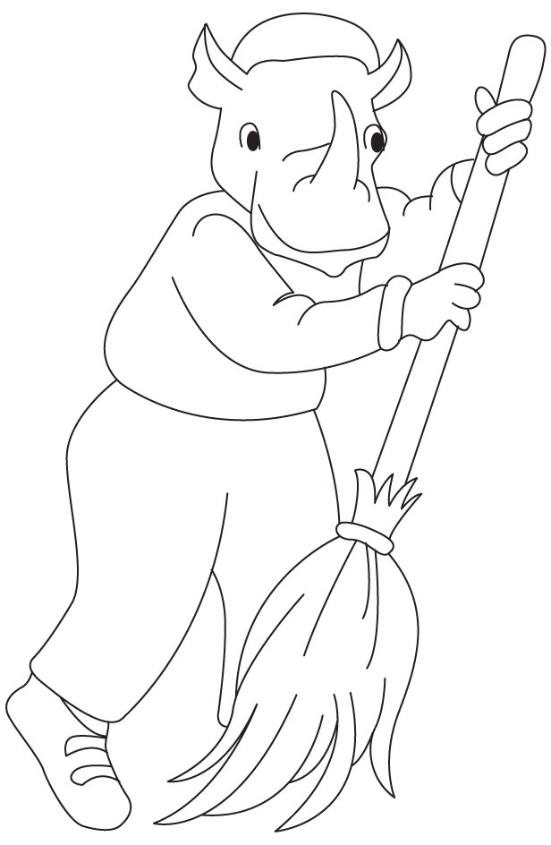 Street Sweeper Coloring Pages Coloring Pages
