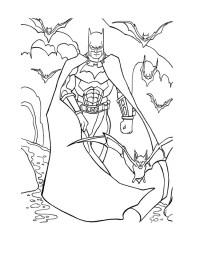 Batman Bane Coloring Pages Printable Coloring Pages