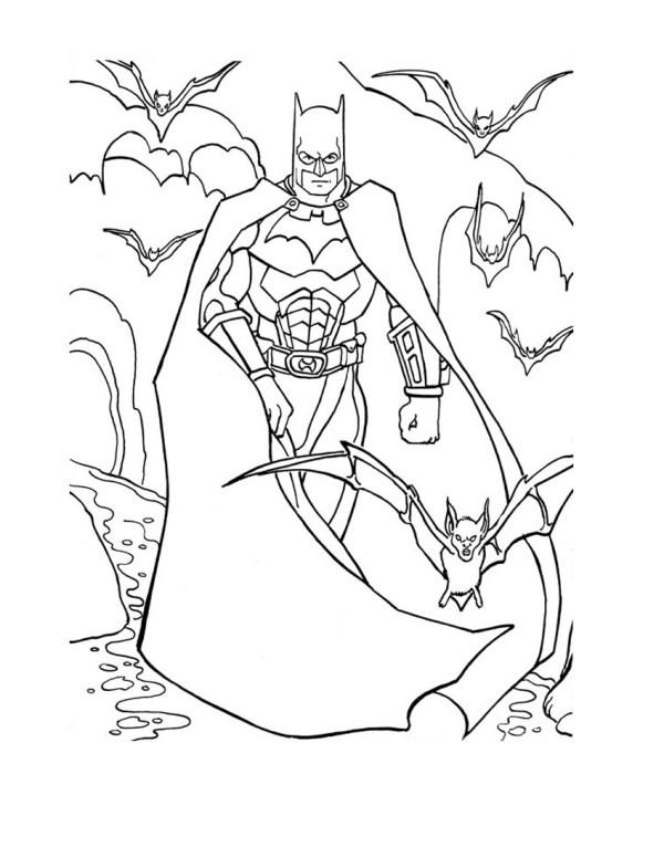 batman printable coloring pages # 11
