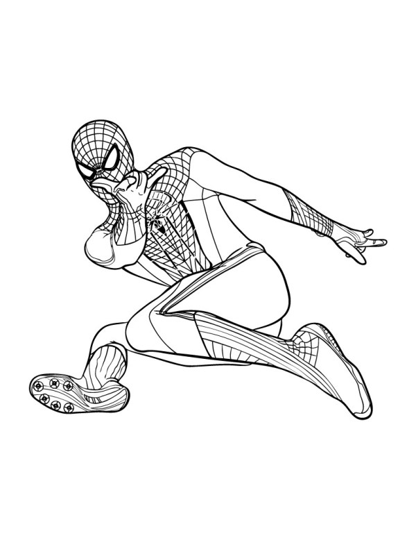 coloring pages of spiderman # 29
