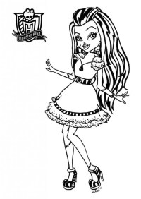 Free Monster High Coloring Pages , Download Free Clip Art, Free Clip Art on  Clipart Library | 282x200
