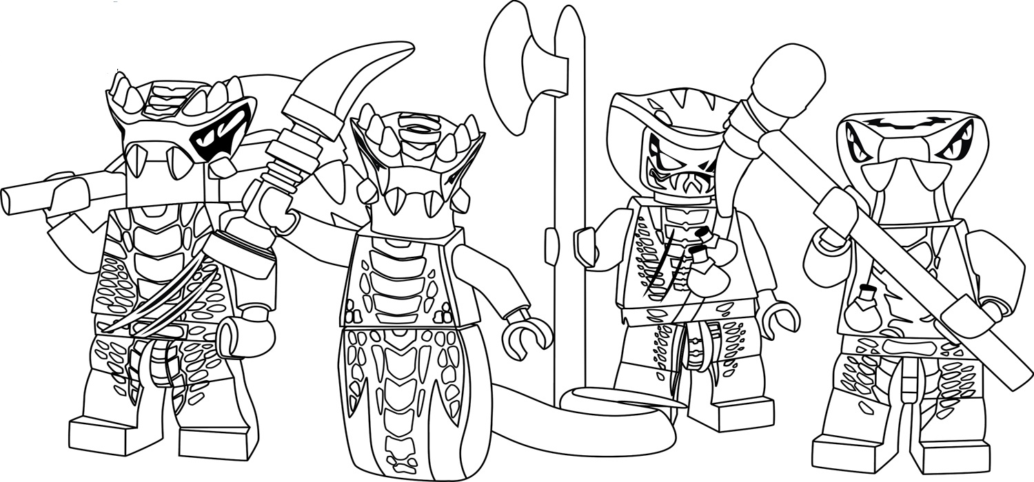 ninjago masters of spinjitzu coloring pages Coloring Page for kids