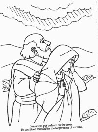 Miriam Leprosy Coloring Page Coloring Pages