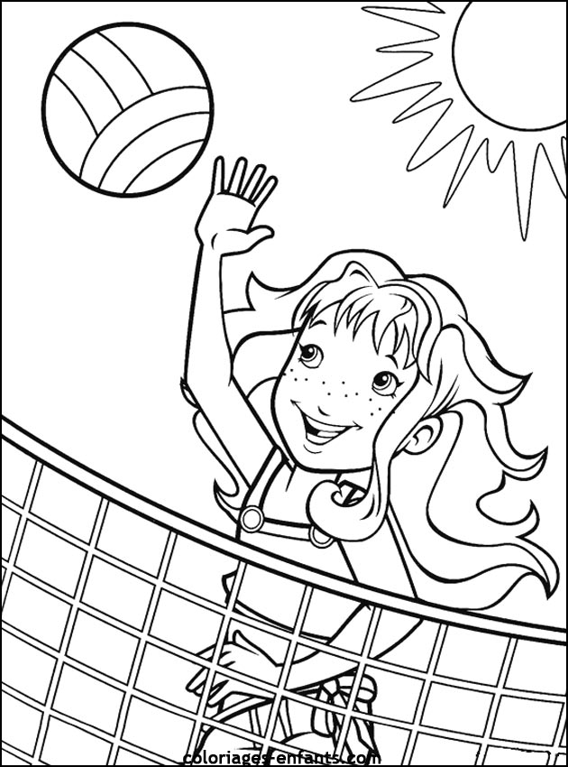 Free Printable Sports Coloring Pages For Kids