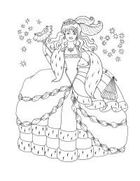 Malvorlagen Prinzessin Kostenlos Baby Princess Coloring