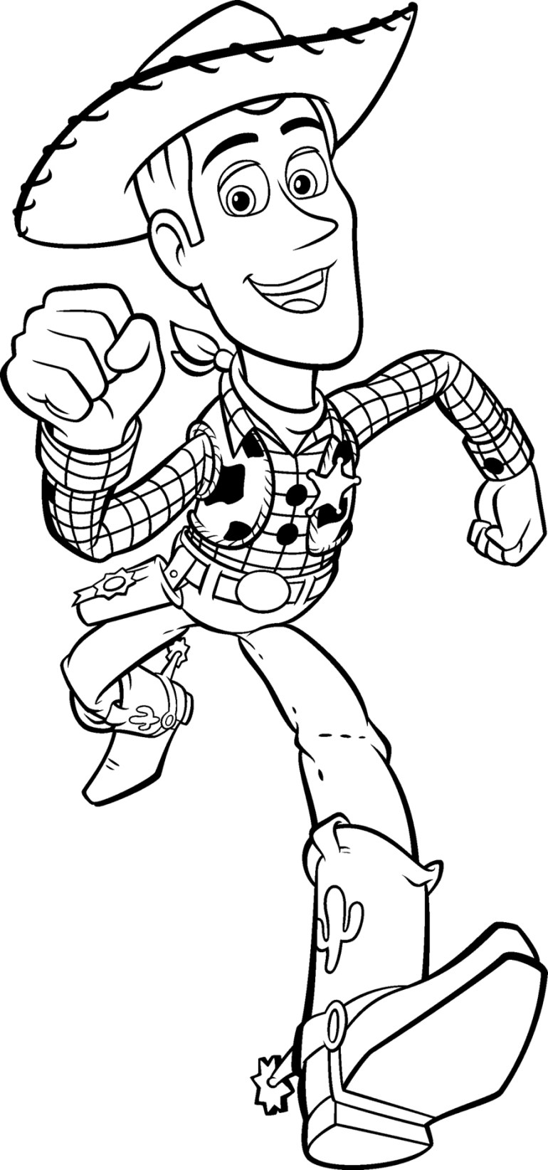 Free Printable Toy Story Coloring Pages For Kids | free printable online coloring pages disney characters