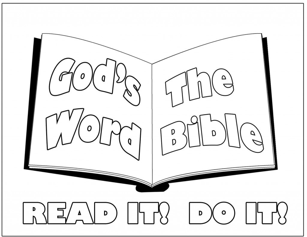 Bible Coloring Pages. Teach your Kids through Coloring.