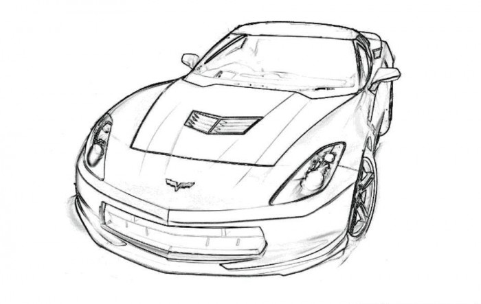 Pro Mod Drag Car Coloring Pages Coloring Pages