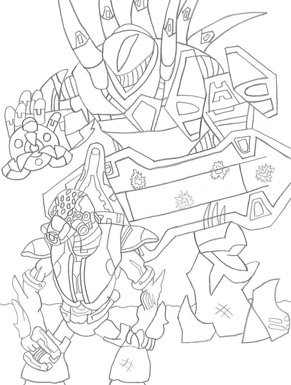 coloring pages halo # 54