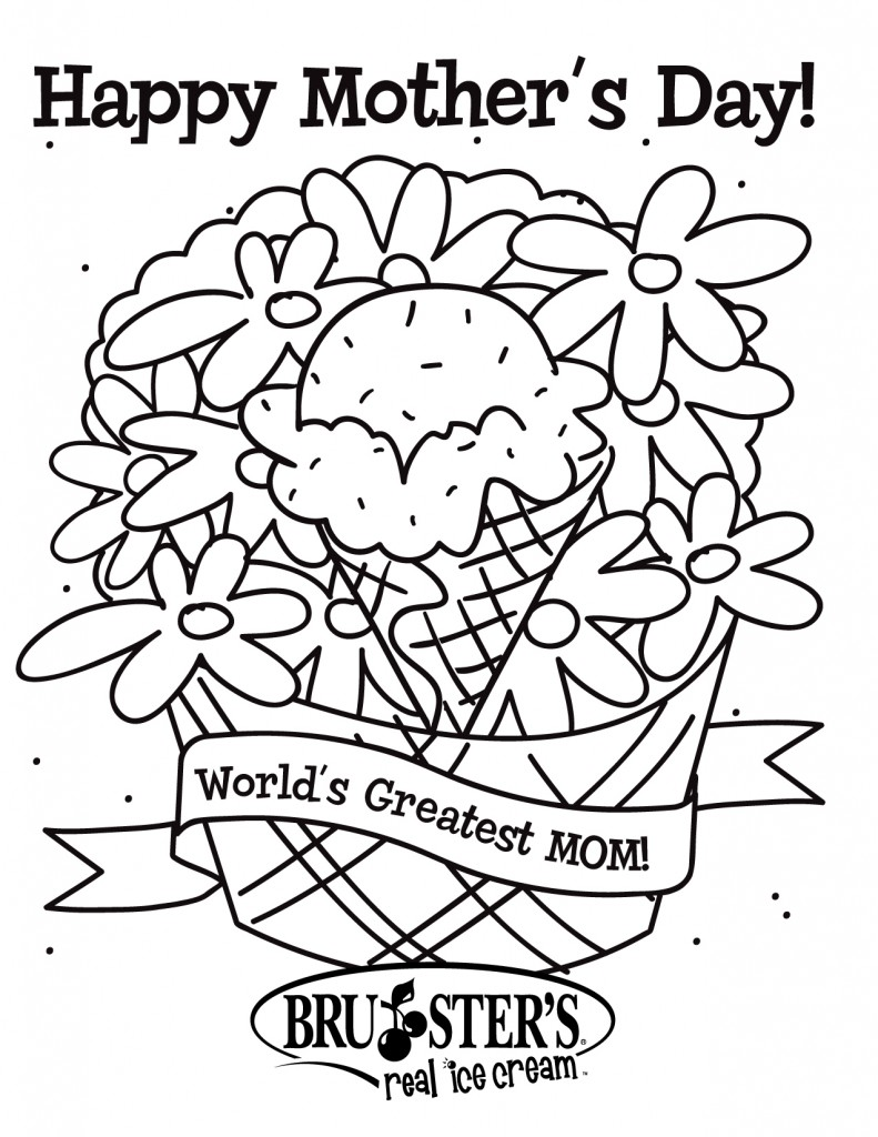 Free Printable Mothers Day Coloring Pages For Kids