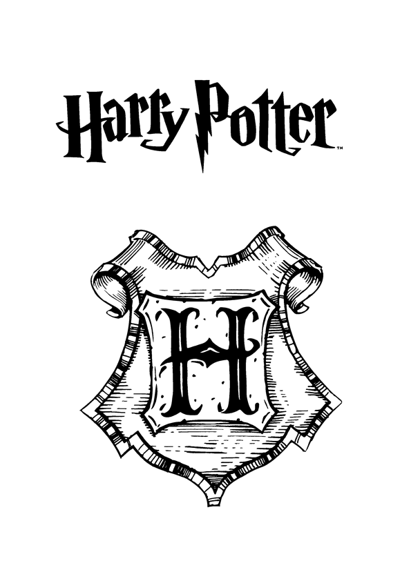 Hogwarts Coloring Pages Auto Electrical Wiring Diagram
