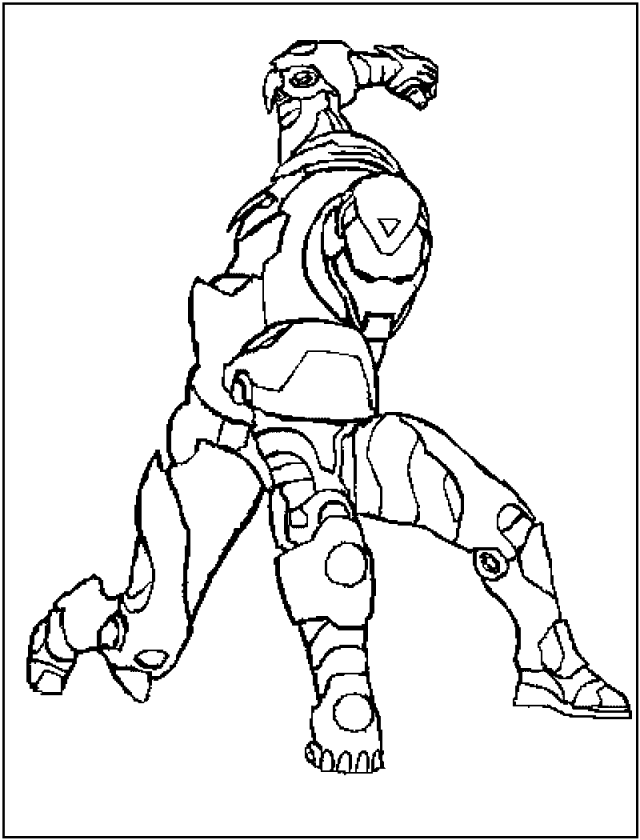 Free Printable Iron Man Coloring Pages For Kids - Best Coloring