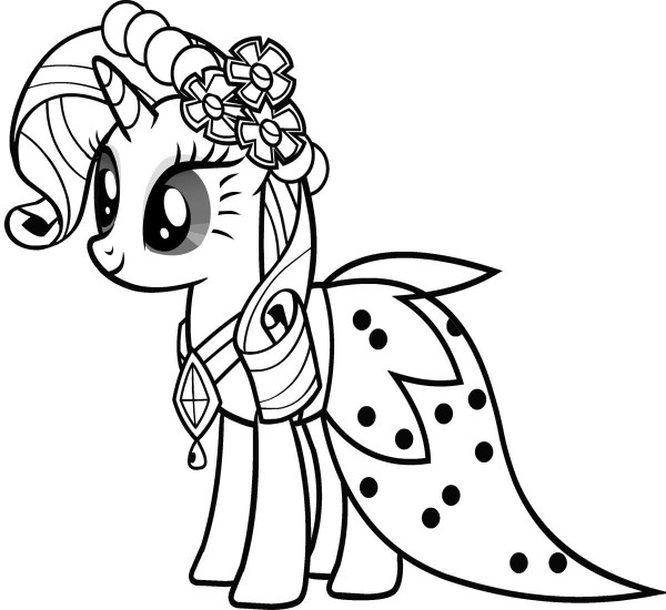 my little pony coloring pages free # 80