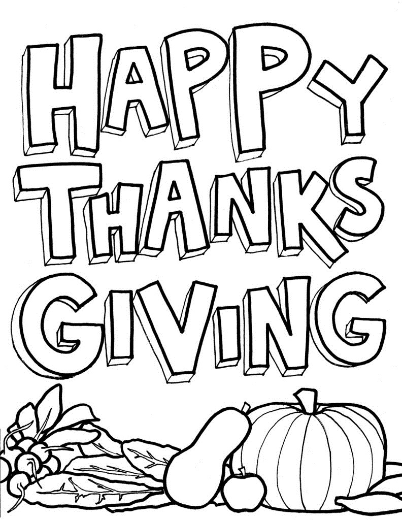 Our Favorite Thanksgiving And Fall Coloring Pages Nufun Activities
