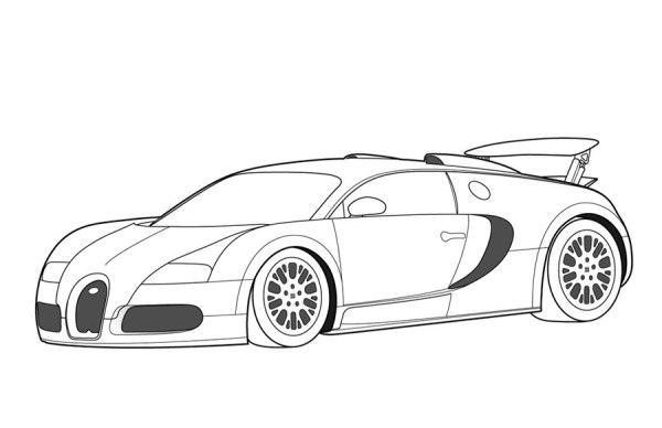 printable car coloring pages # 44