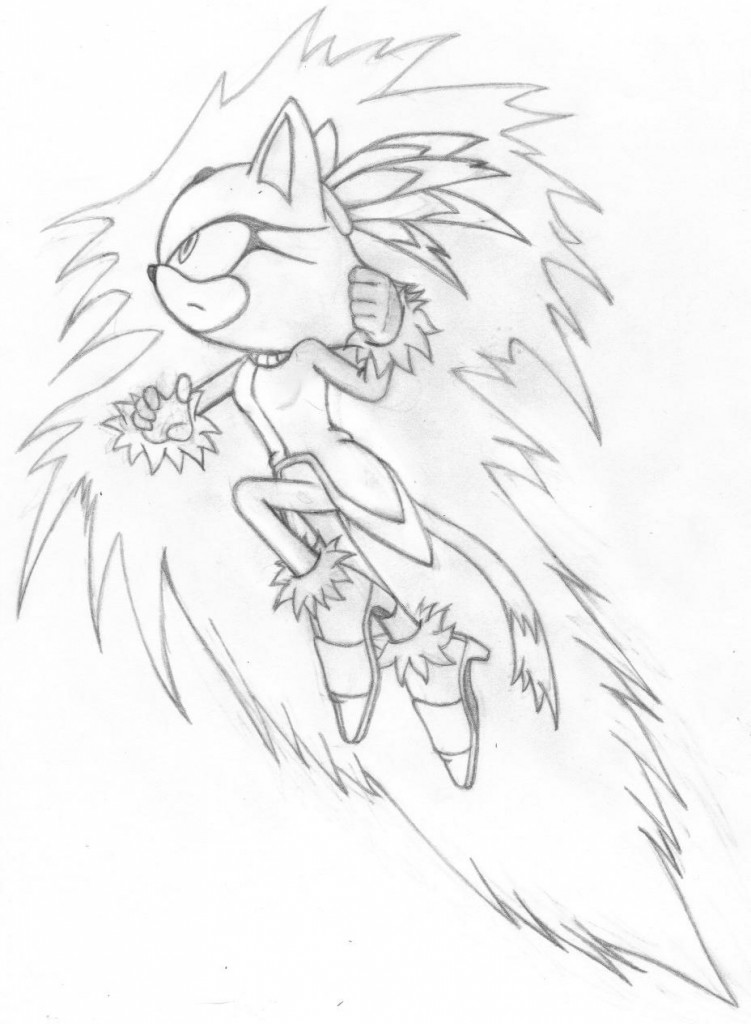Sonic Free Riders Coloring Pages