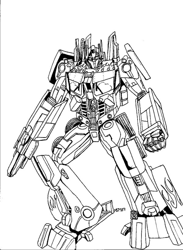 transformers prime coloring pages # 6