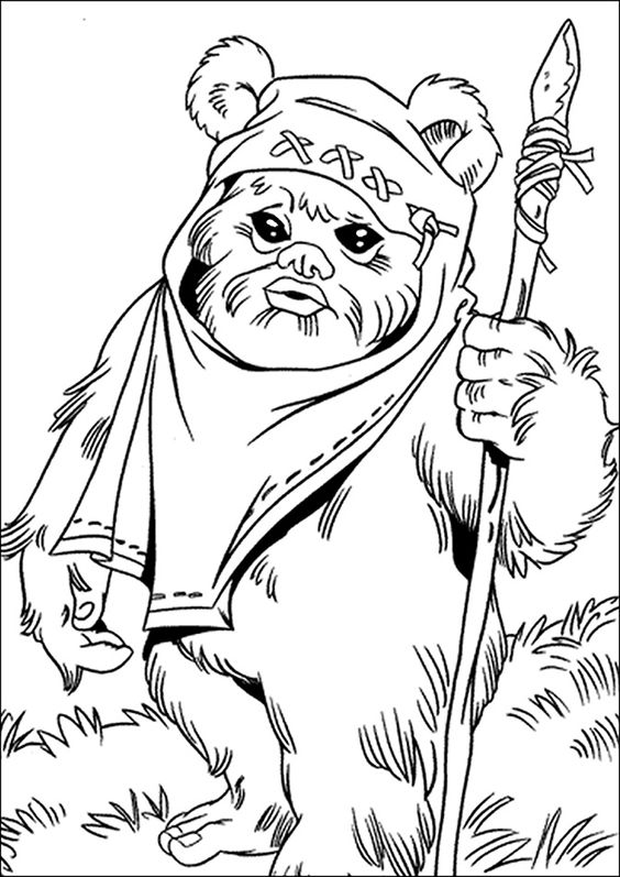 star wars printable coloring pages # 14