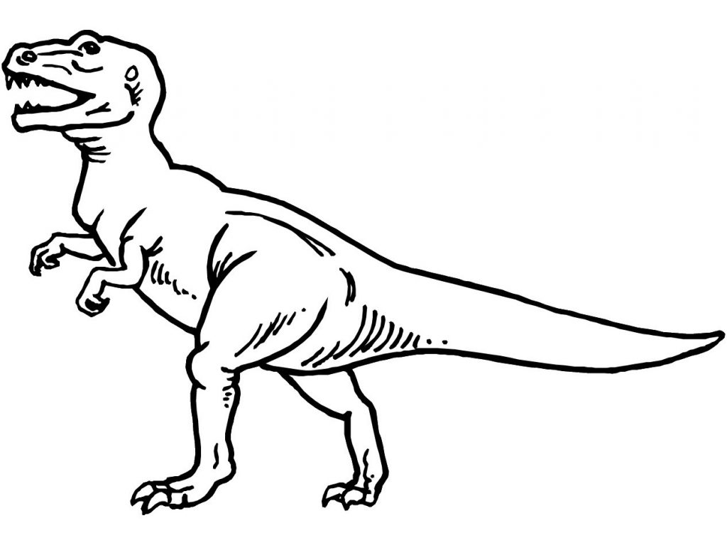 Cute Baby Dinosaur Coloring Pages