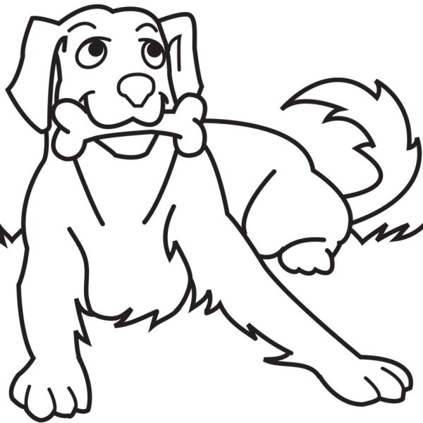 dog printable coloring pages # 12