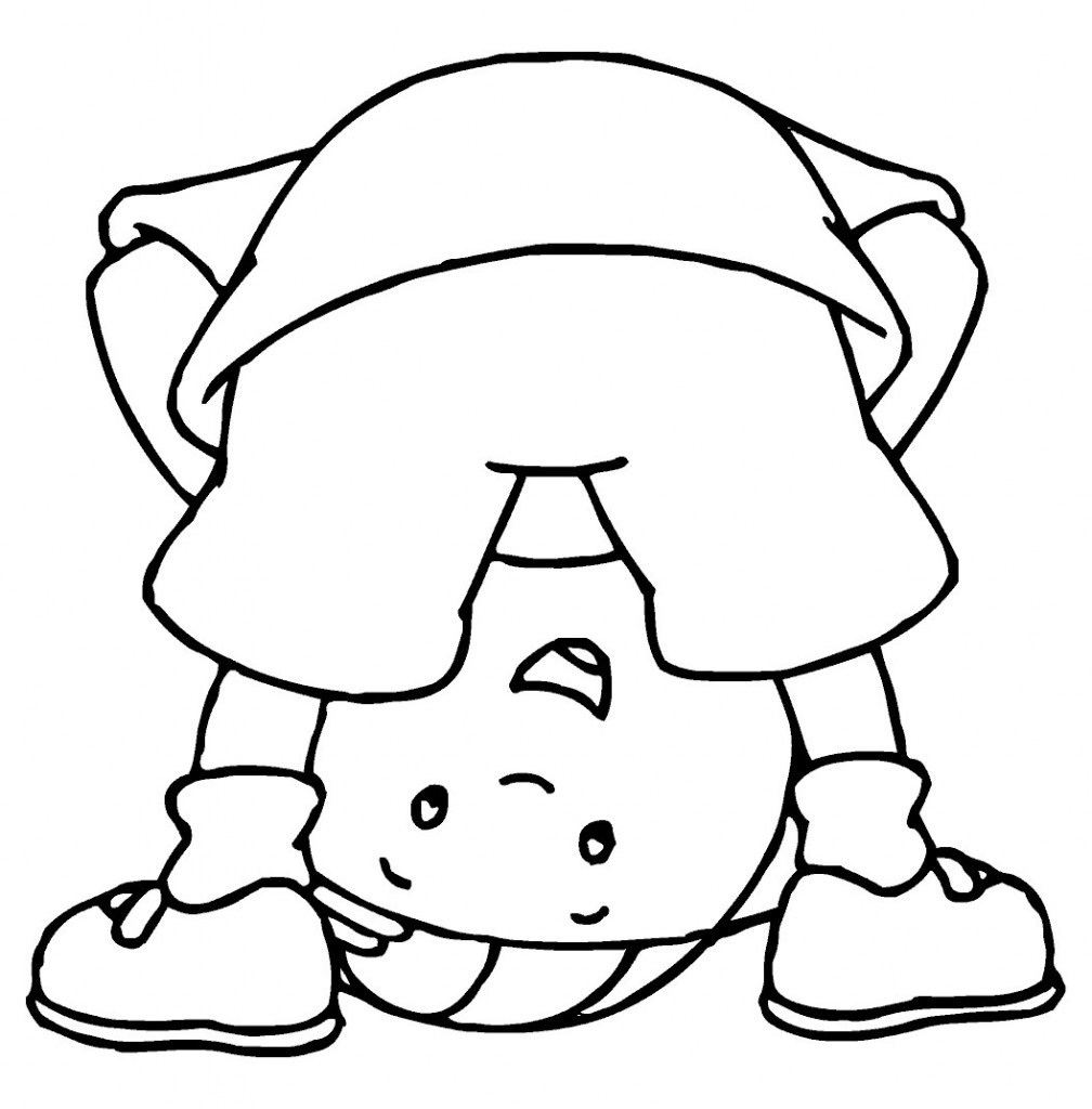 Free Printable Caillou Coloring Pages For Kids