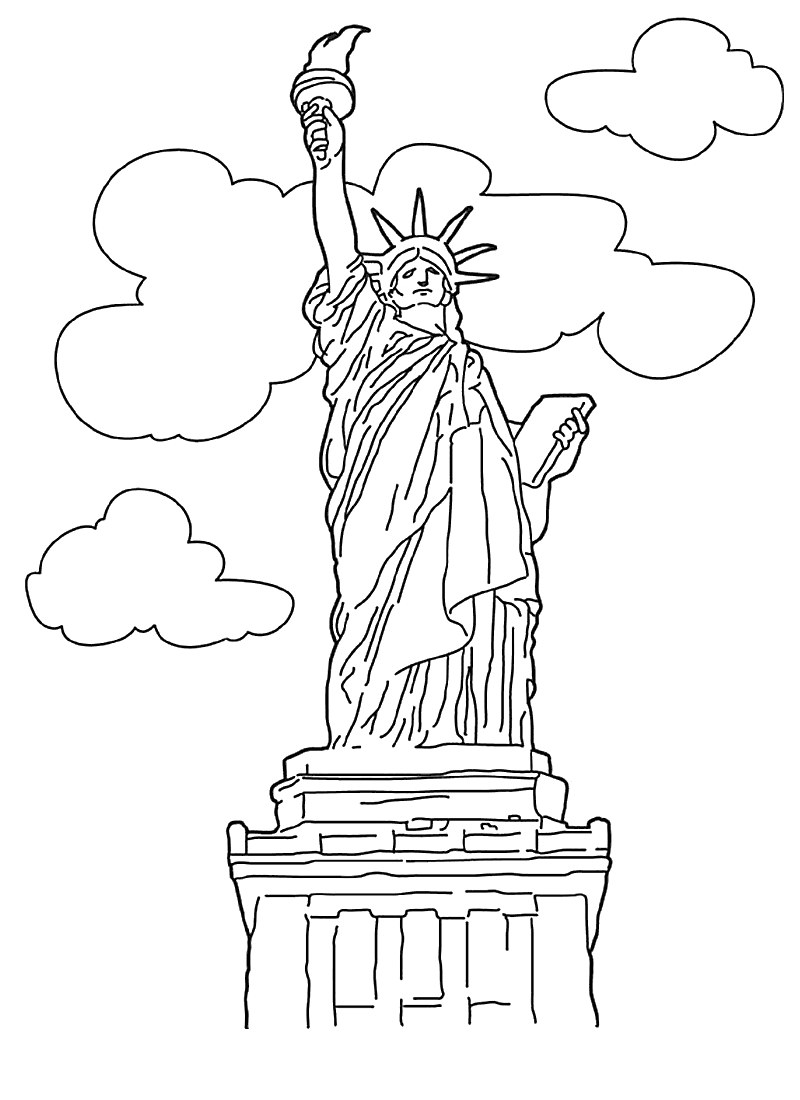 Ellis Island Coloring Sheets Printable Coloring Pages