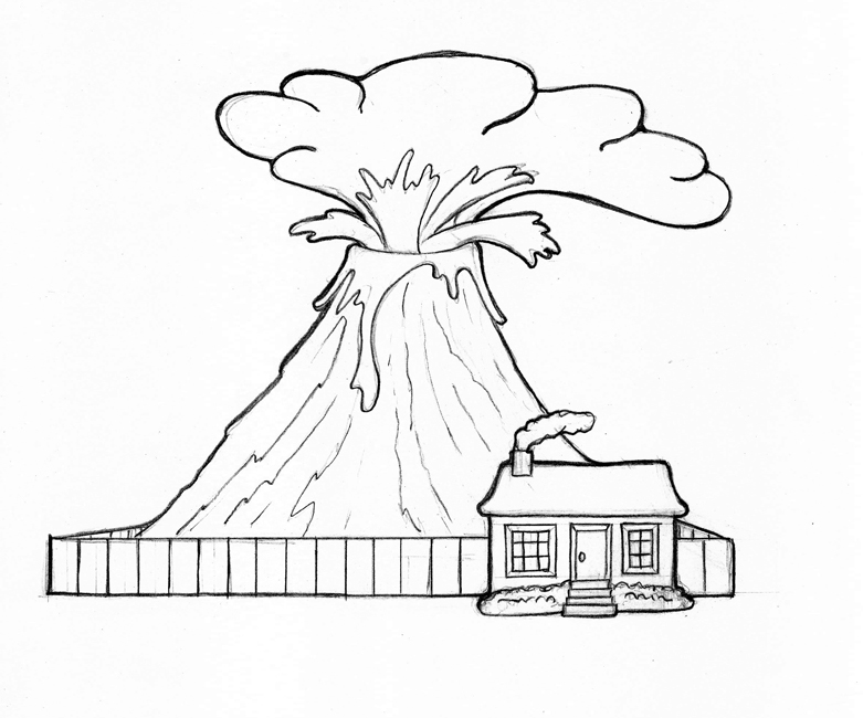 Volcano Diagram Printable, Volcano, Free Engine Image For
