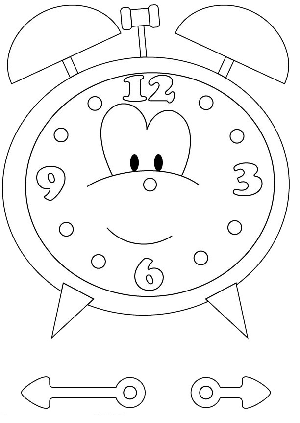 Clock Craft For Kids