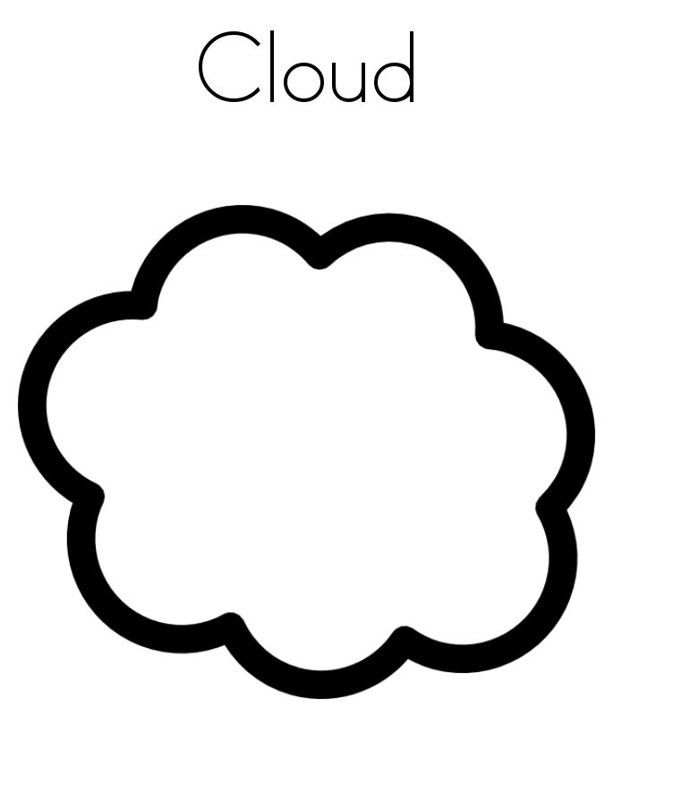 Drawn Clouds Puffy