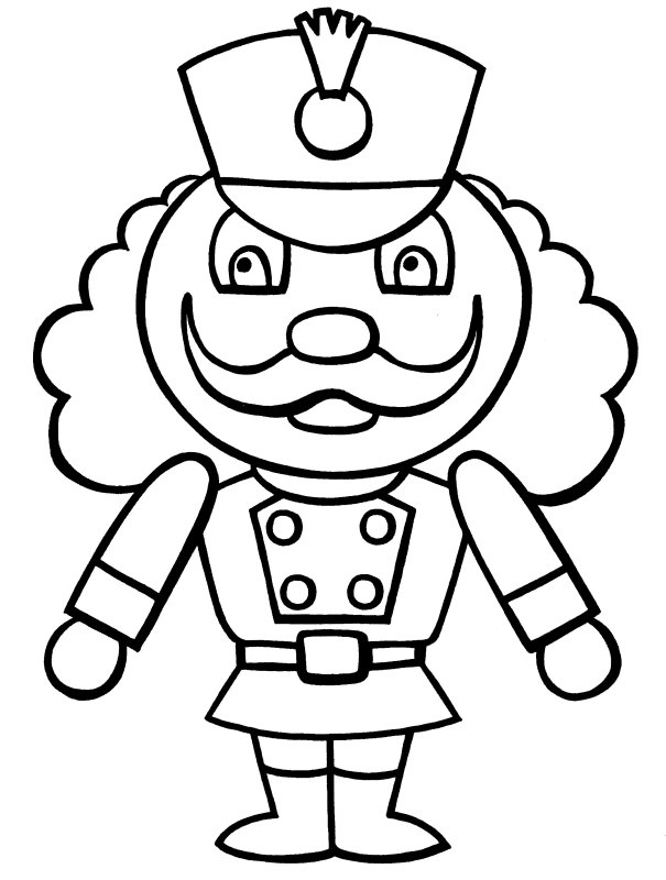 Free Printable Nutcracker Coloring Pages For Kids