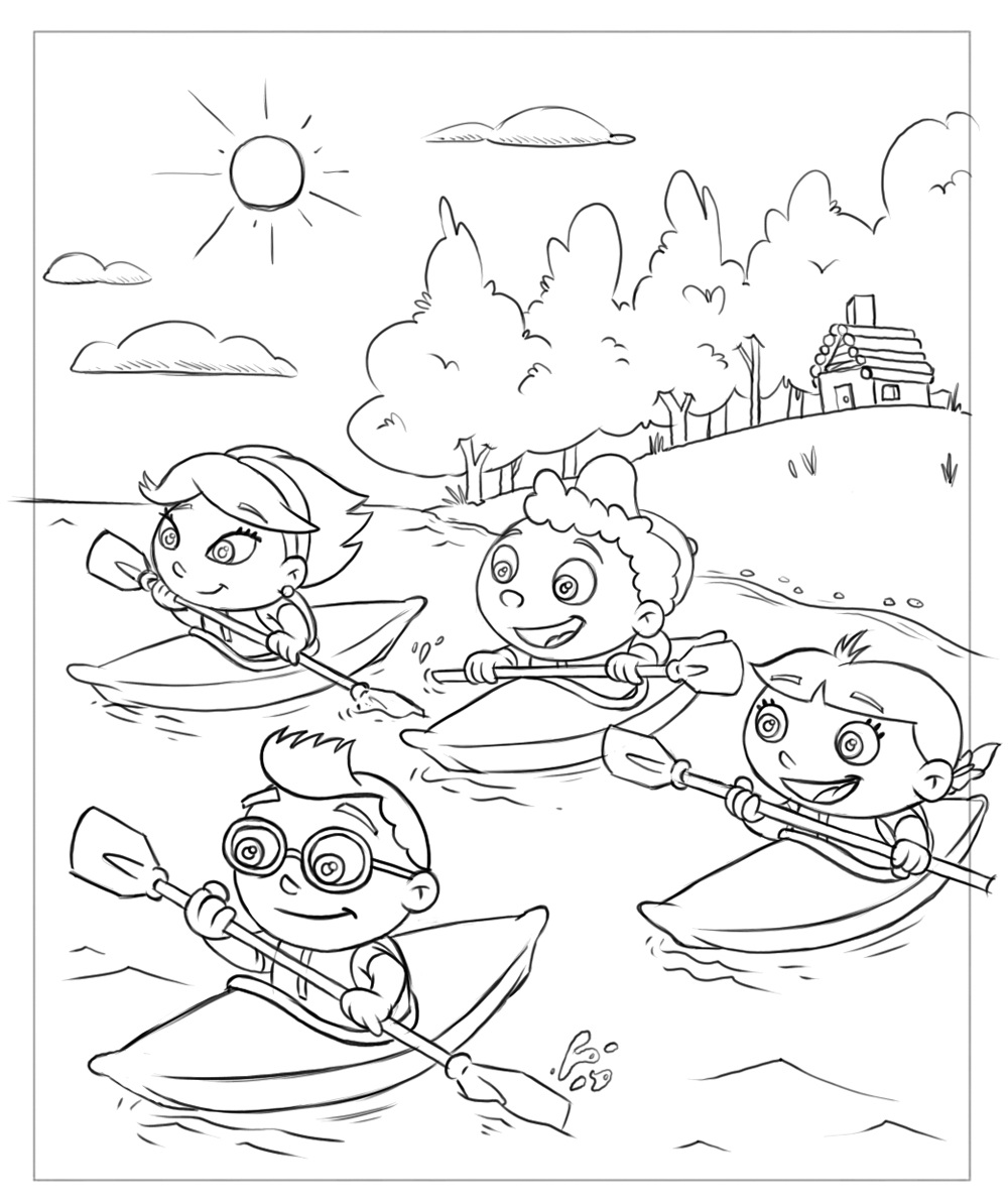 Free Printable Little Einsteins Coloring Pages. Get ready