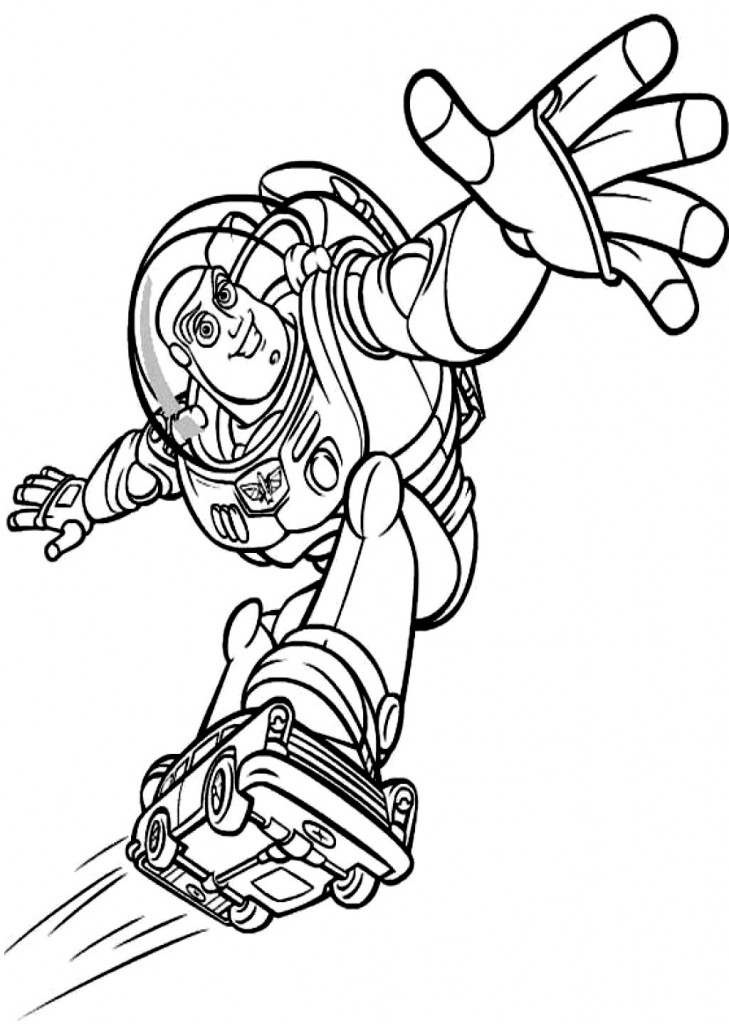 Free Printable Buzz Lightyear Coloring Pages For Kids | printable coloring pages for kids.