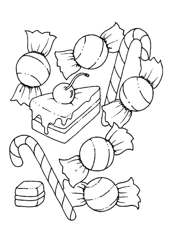 Cute Candyland Coloring Pages To Printable