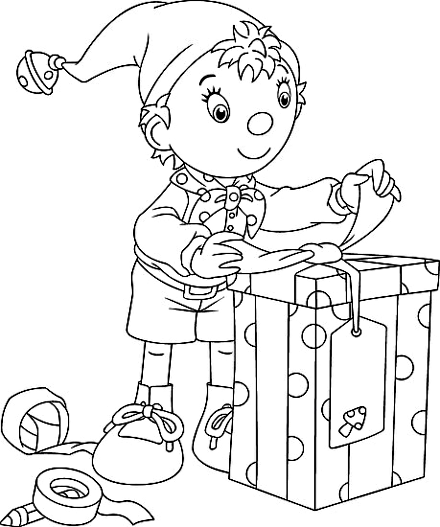 Buddy The Elf Coloring Pages Coloring Page