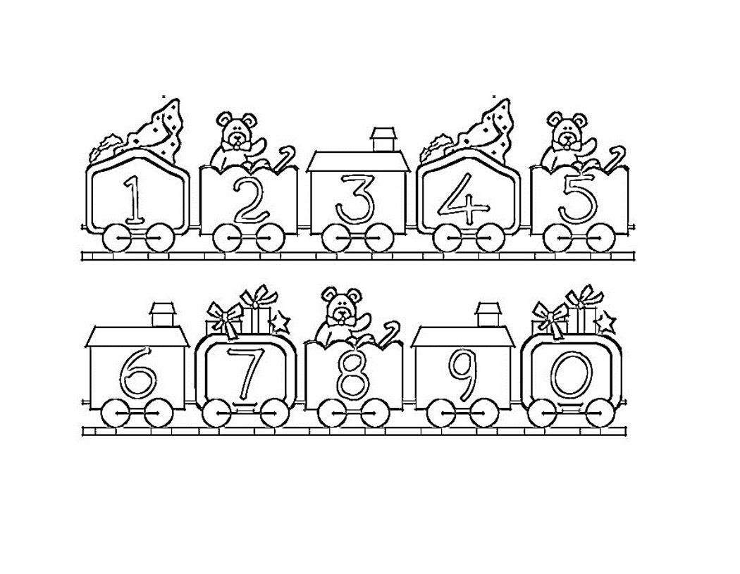 Number 12 Page Coloring Pages