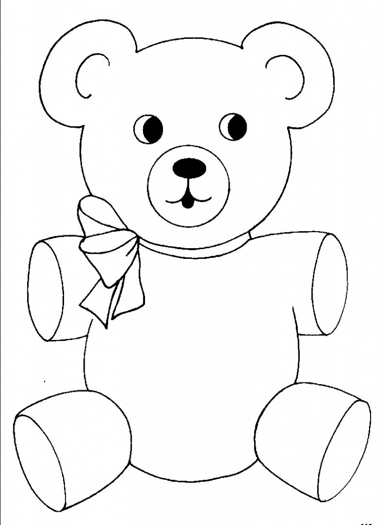 Scary Teddy Bear Coloring Pages Coloring Pages