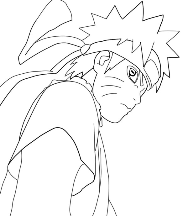 naruto shippuden coloring pages # 10