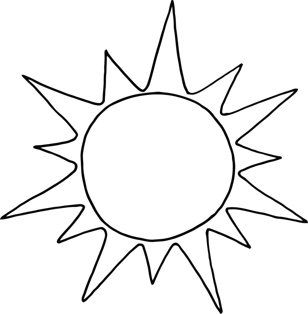 Free Printable Sun Coloring Pages For Kids