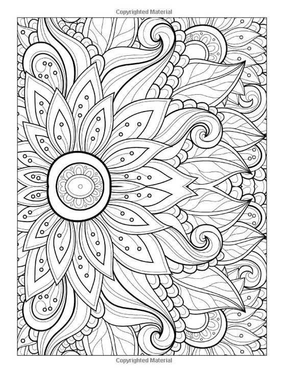 free printable abstract coloring pages # 1