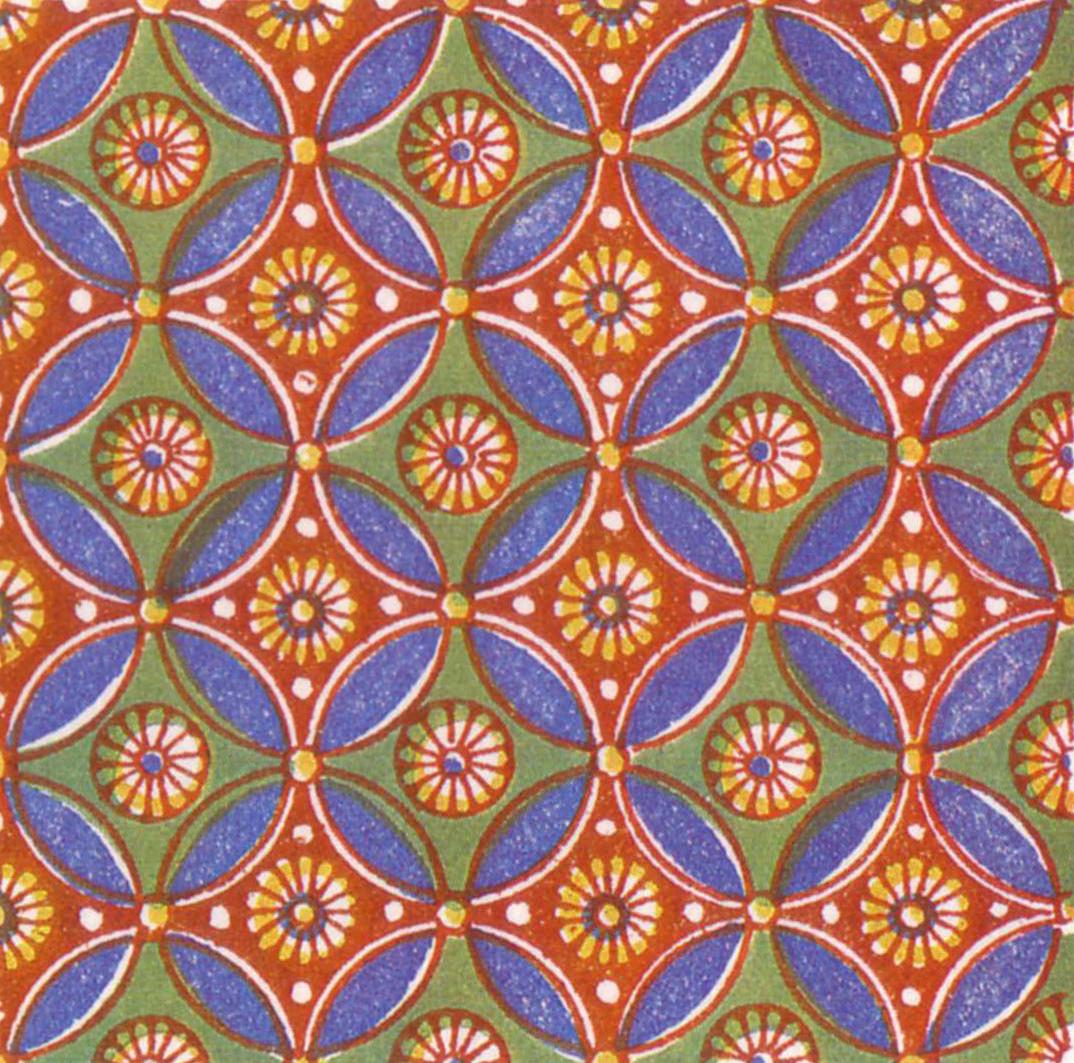 Symmetrical Mosaic Pattern