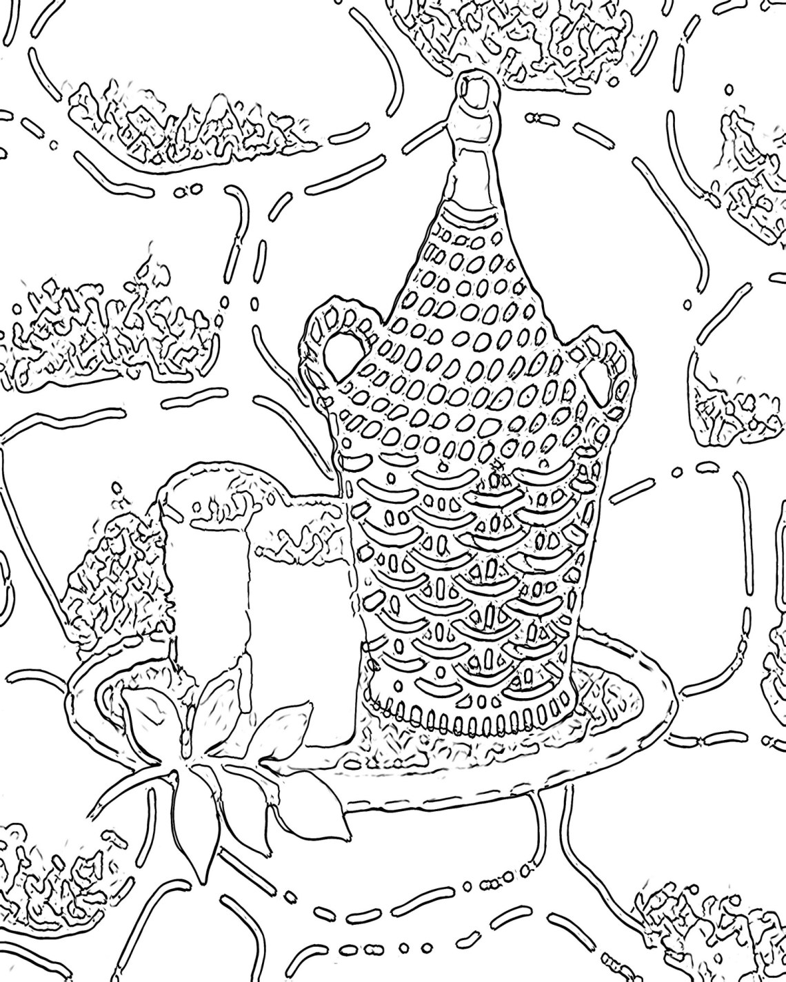 Free Printable Abstract Coloring Pages for Adults | free fun coloring pages for adults