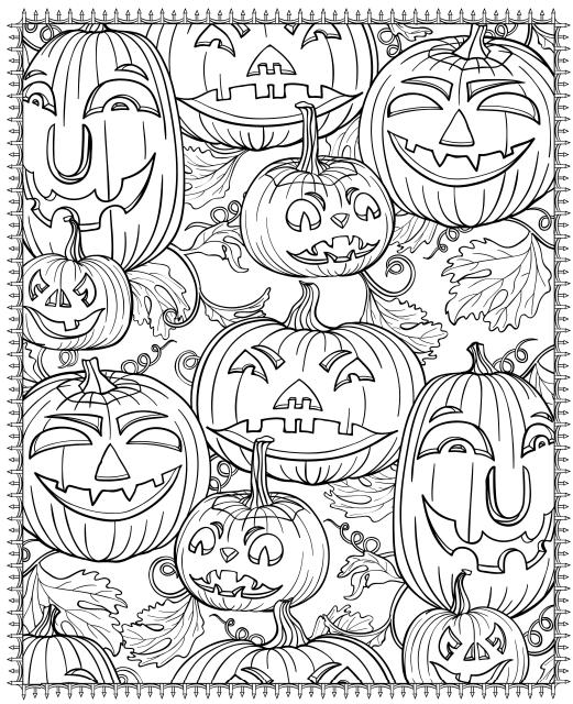 coloring halloween pages # 32